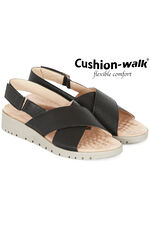 Cushion Walk Venice Cross Over Sandal