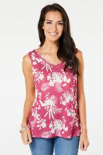 Tropical Mono Print Vest