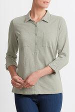 Cotton Button Through Shirt