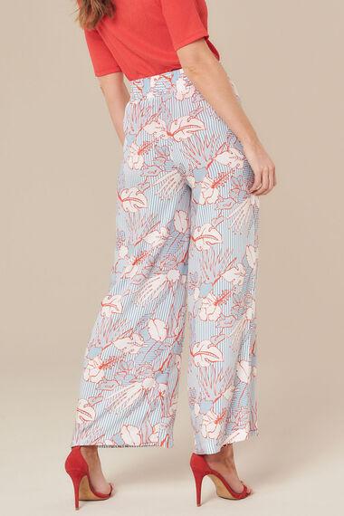 Grace By Eda Floral Wide Leg Trouser