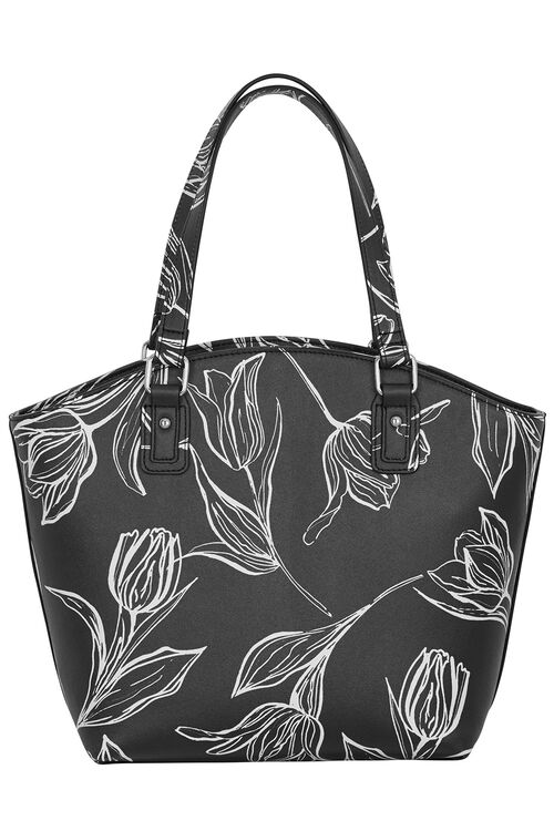 Tulip Printed Shoulder Bag