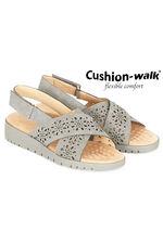 Cushion Walk Rome Cross Cut Out Slingback Shoe