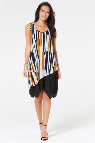 Stella Morgan Colourblock Dress