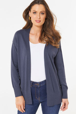 Side Button Edge to Edge Cardigan