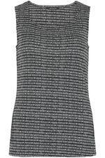 Square Neck Dash Print Vest
