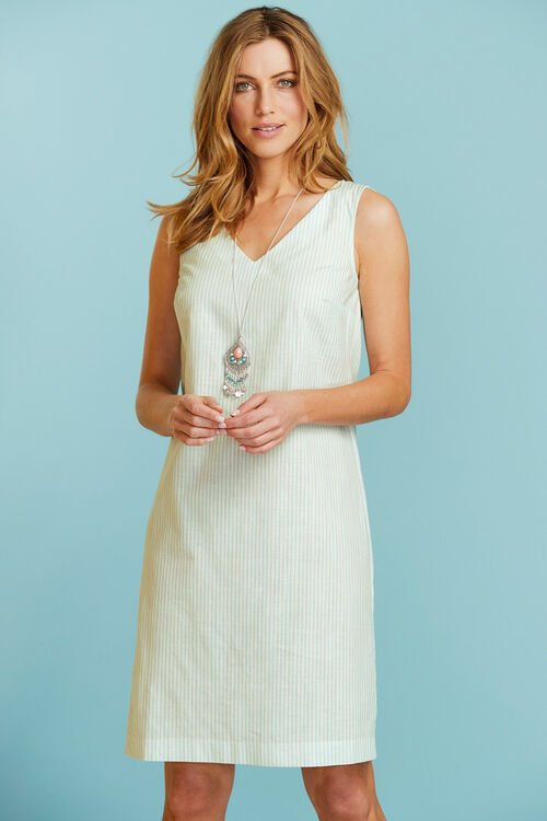 Stripe Cotton Dress