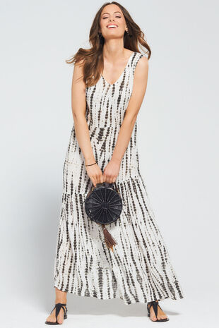 Isla & Rose Tie Dye Maxi Dress