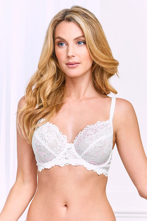 2 Pack Lace Underwired Bras