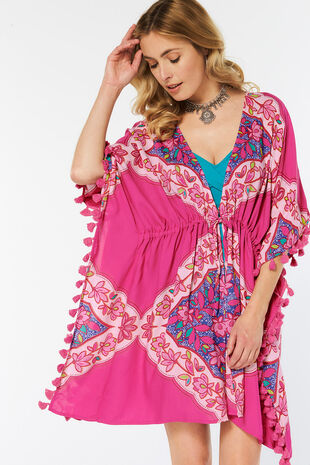 Diamond Printed Kaftan