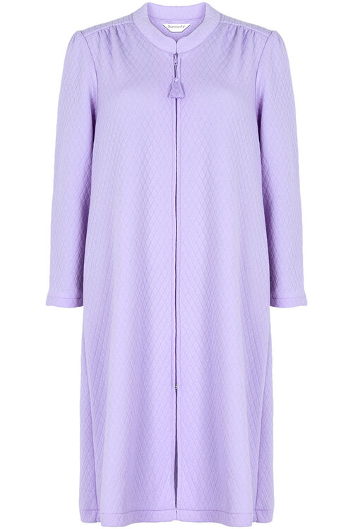 Quilted Zip Through Robe