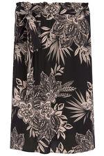 Floral Wrap Skirt