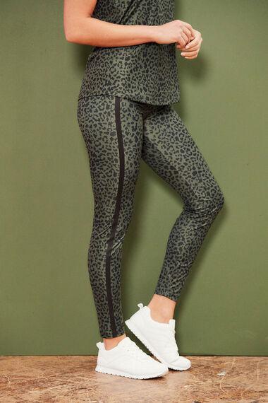 NVC Activewear Animal Print Sports Legging