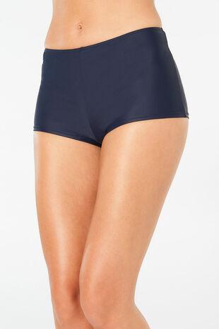 Plain Navy Swim Short