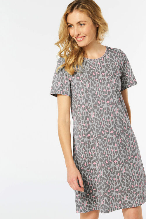 Leopard Print Nightdress