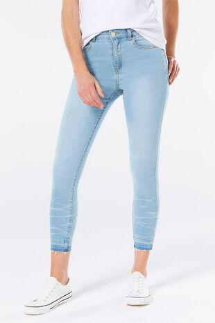 The Denim Edit Ankle Grazer Jean