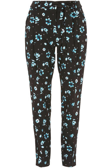 Printed Belted Trouser