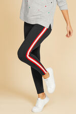 Contrast Piping Legging