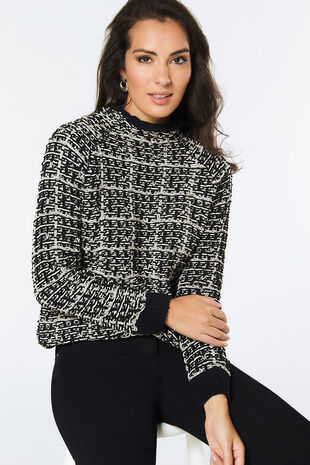 Stella Morgan Check Jumper