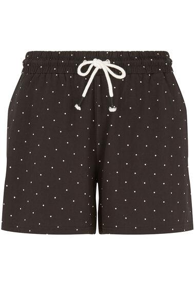 Mini Spot Print Jersey Short