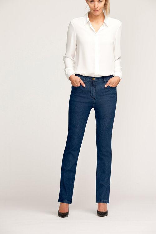 00c598fbb69 Straight Leg Stretch Denim Jeans