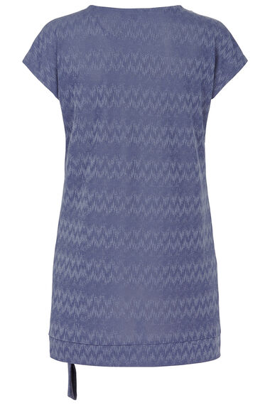 Jacquard Tunic With Scarf
