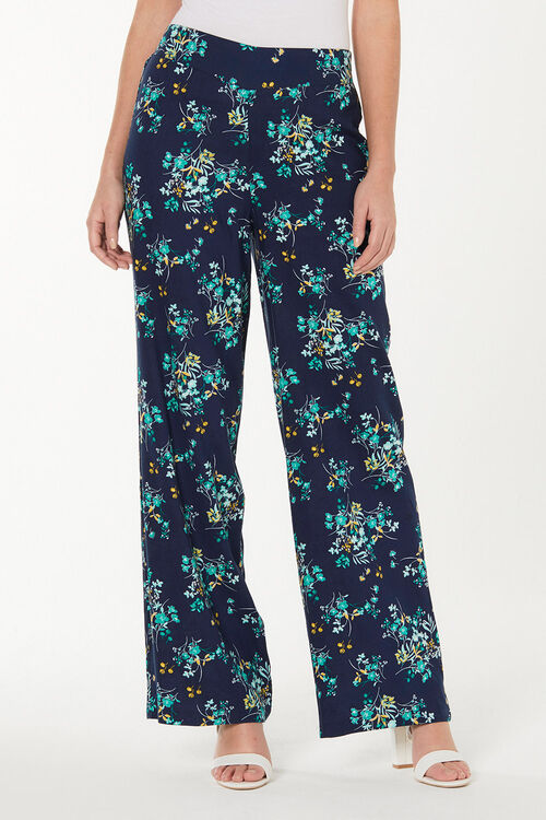 Floral Printed Palazzo Trousers