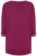 Spot & Reverse Stripe Tunic