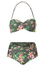 Beachcomber Floral Wrap Bikini Set
