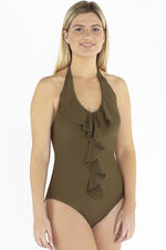 Beachcomber Waterfall Frill Swimsuit