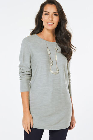 Supersoft Ripple Textured Tunic