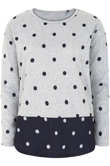 Stella Morgan Spot Print Soft Touch Sweater