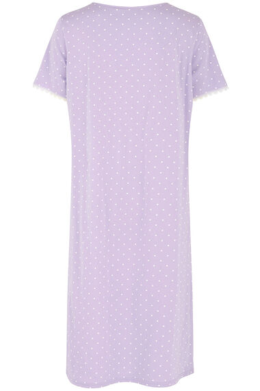 Spot Print Nightdress