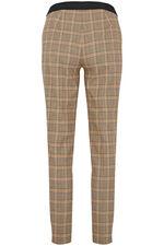 Salvari Slimline Large Check Trouser