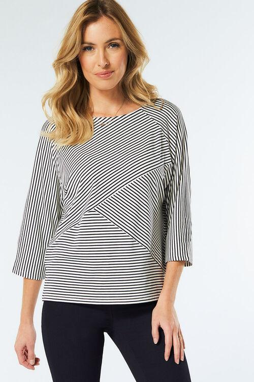 Stripe Detail T-Shirt