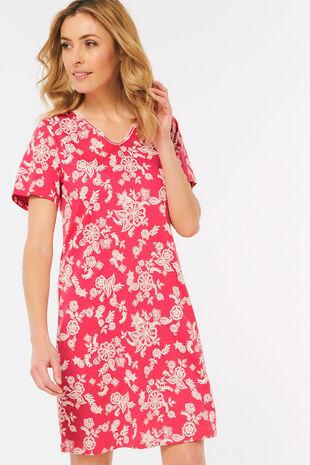 Pink Floral Nightdress