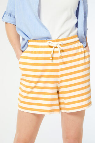 Stripe Jersey Short