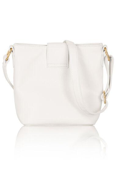Cross Body Bucket Bag with Tassel