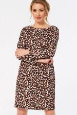 Animal Print Ponte Dress