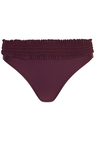 Shirred Detail Bikini Brief