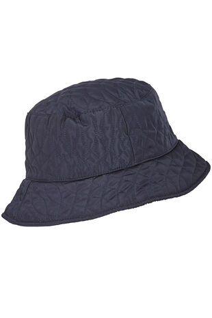 Quilted Brimmed Bucket Hat