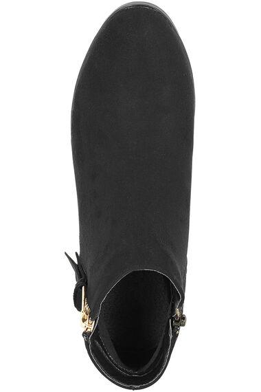 Krush Western Zip Ankle Boot