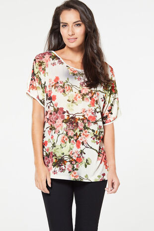 Stella Morgan Floral Print Top
