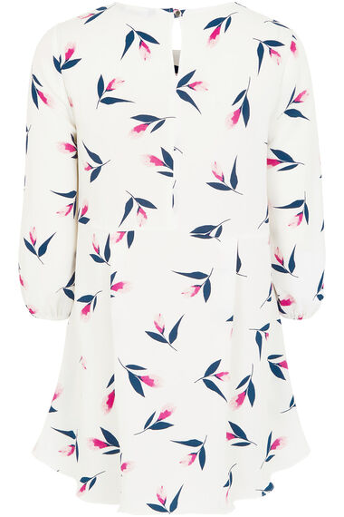 Tulip Print Tunic Top
