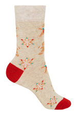 2 Pack Gingerbread & Stocking Christmas Sock