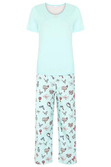 Cosmetic Spot Print Pyjama