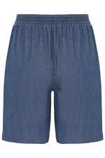 Chambray Shorts