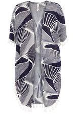 Stella Morgan Abstract Print Beach Cover Up