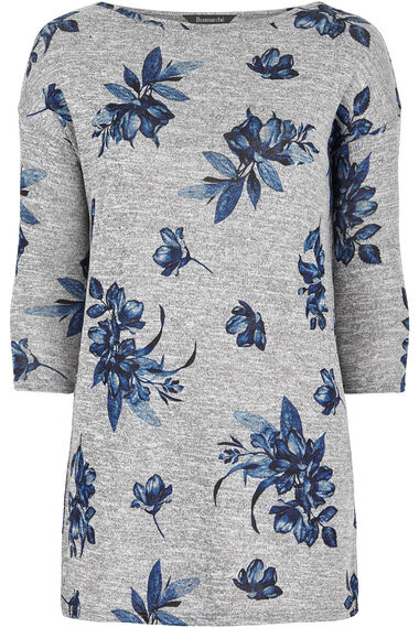 Floral Printed Snit Tunic