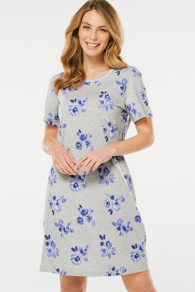 Watercolour Floral Nightdress