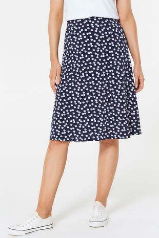 Double Spot Flippy Skirt